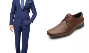 Suit Chic with Shoes