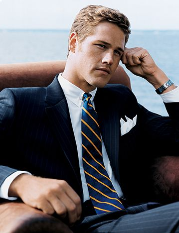 According to Men's Suits Blondes