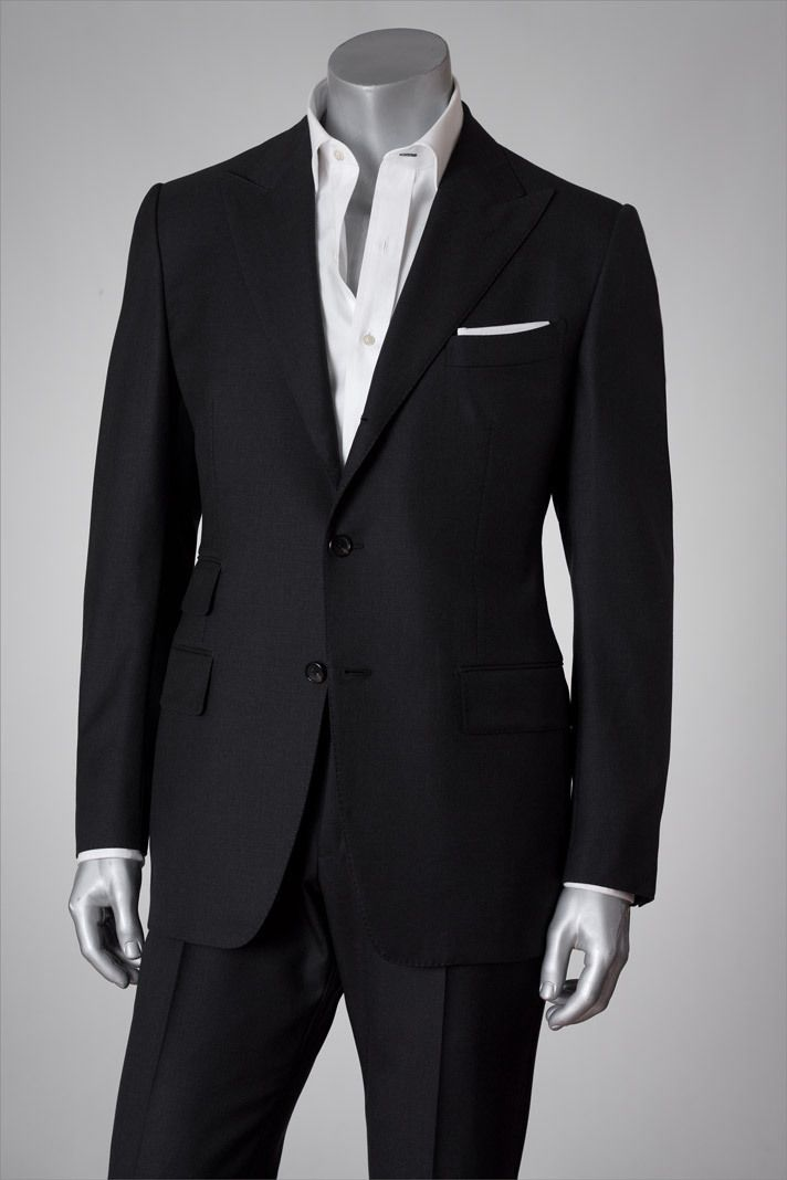 Black Tailored Tom Ford Suit