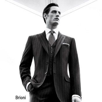 Brioni three-piece Mens Suit
