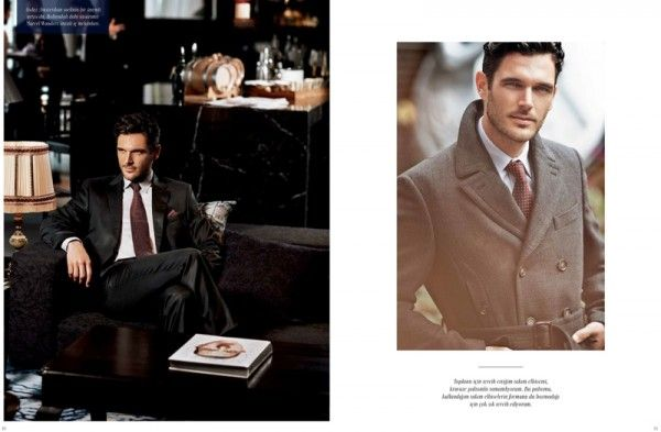 Cacharel Fall-Winter 2013-2014 Mens Suit