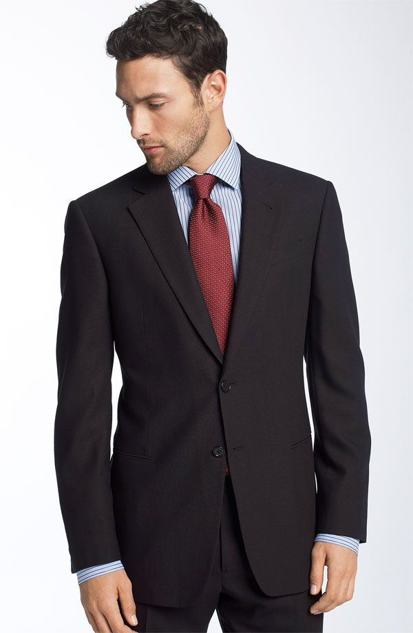 Job-Appropriate black suits