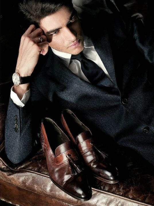 Masculine and elegance man's fashion apparel suit