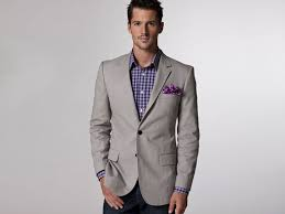 Men Business suit light Gray casual Suit | Mens Suits Tips