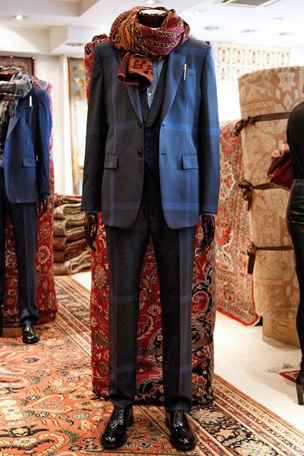 Paul Smith Autumn Winter 2014-15 Menswear