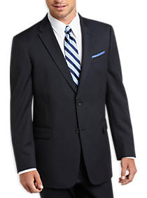 Tommy Hilfiger Blue Pinstripe Slim Fit Suit