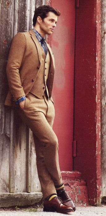 Well-tailored suits