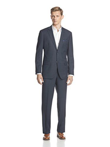 Zanetti Men's Birdseye Suit