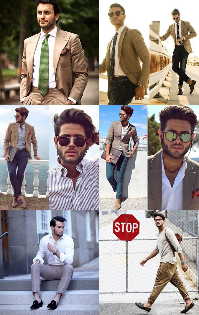 Casual Mens Suits collages for daily dressing