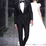 Classic Black Mens Wedding Suit