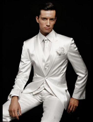 White/Off white tuxedos are a great choice for any formal occasion! A tuxedo by definition is a formal men's suit that is differentiated from a suit in several important ways. A white tuxedo will always have a satin lapel, usually worldofweapons.tk tuxedos also have tuxedo pants that have a satin stripe running the length of the leg on the outside.