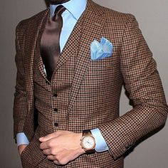 Brown Men Suits (18)