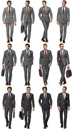 Charcoal Grey Men Suits (10)