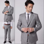 Light Grey Men Suits
