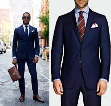 Navy Blue Men Suits (30)