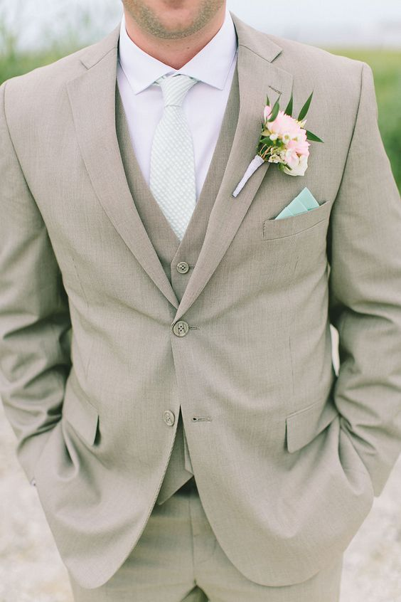 Lapel Groom Suits Casual Summer Suit Men 3jpg Unique Wedding Ideas