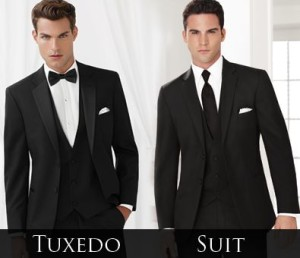 Men Suits vs Tuxedo