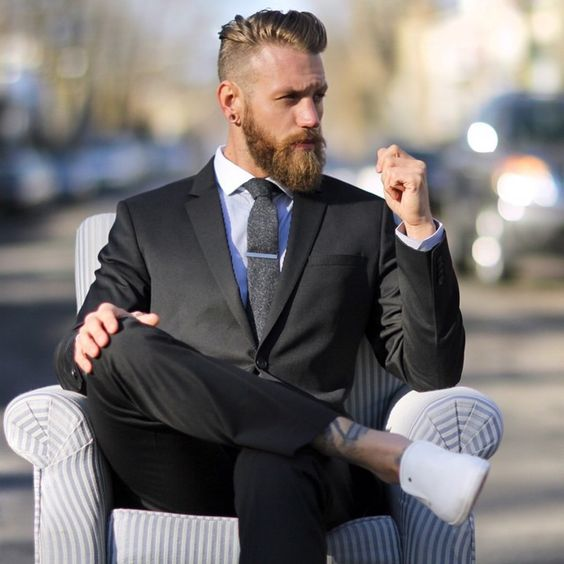 Men Suits with Sneakers (1)