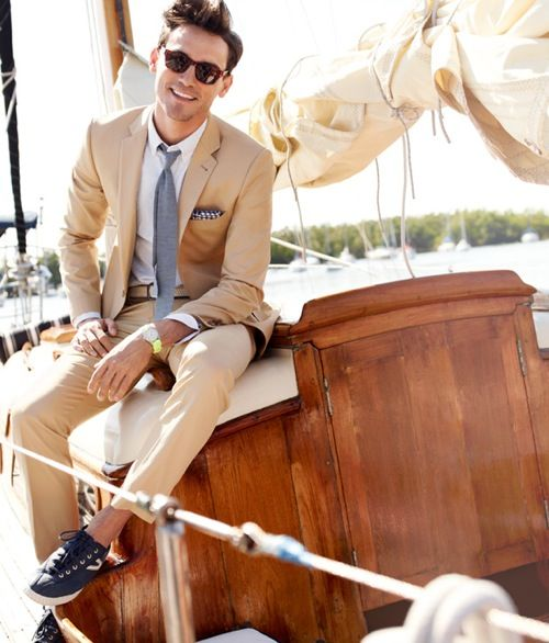 Men Suits with Sneakers (10)