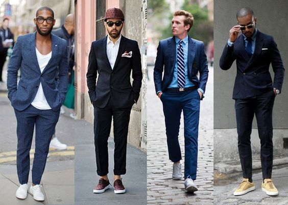 Men Suits with Sneakers (15)