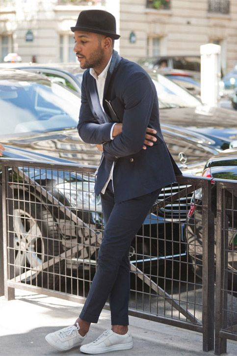 Men Suits with Sneakers (16)