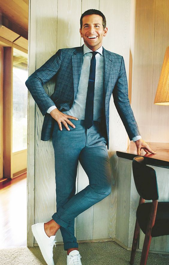 Men Suits with Sneakers (17)