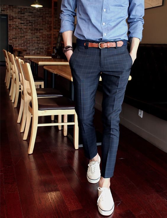 Men Suits with Sneakers (19)