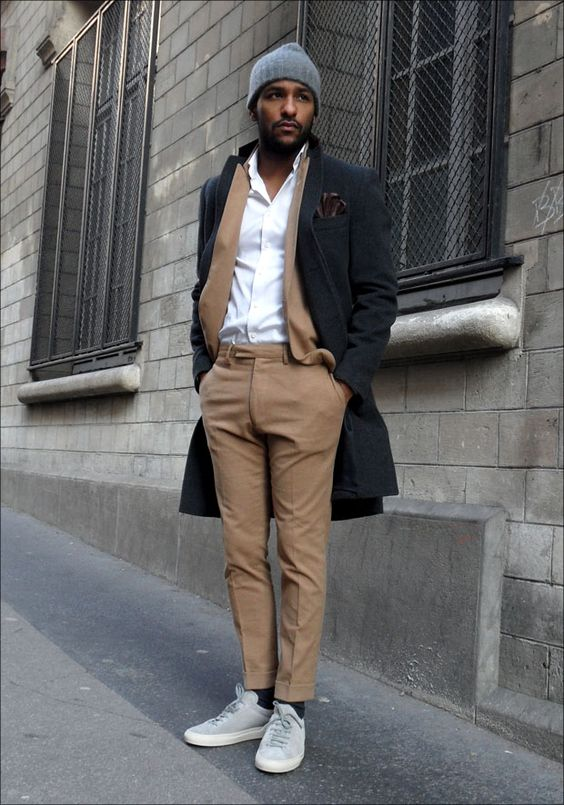 Men Suits with Sneakers (25)