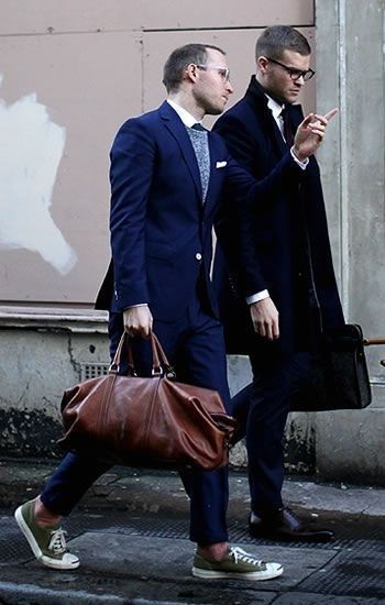 Men Suits with Sneakers (6)