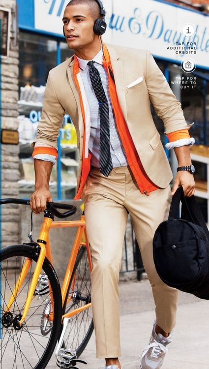Men Suits with Sneakers (8)