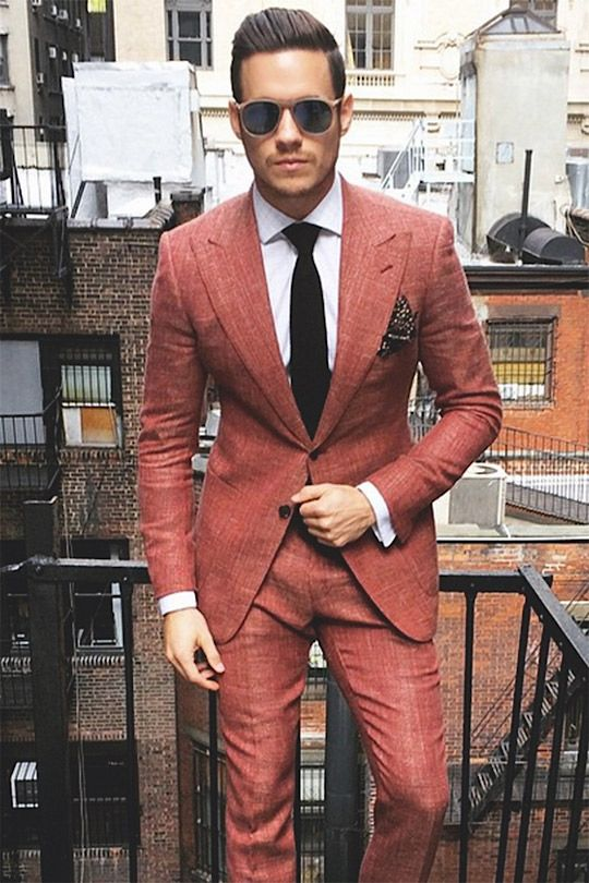 Suits for Short and Thin Men (10)