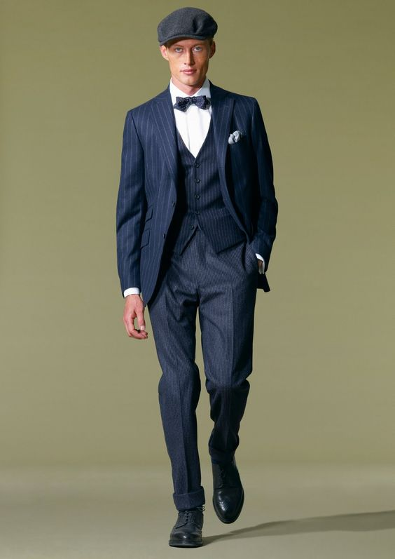 Suits for Short and Thin Men (6)
