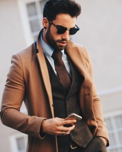 Vested Three-Piece Men Suits (9)