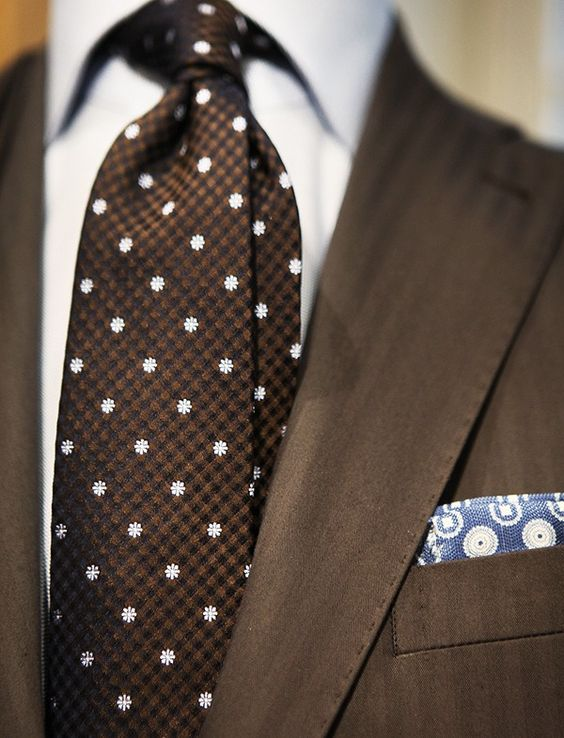 pink and white polka dot tie and black suit mens suits tips