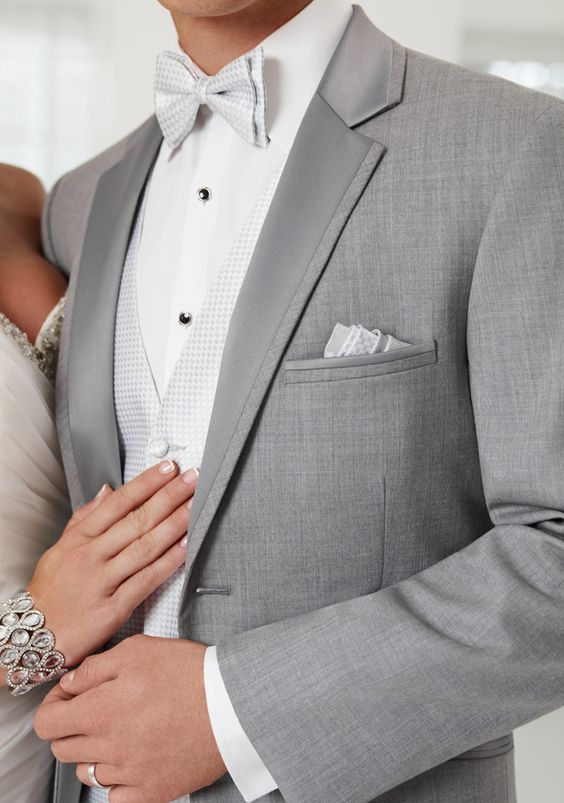 Grey wedding suit - Mens Suits Tips