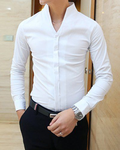 Formal shirt details for men suits mens suits tips for Mens formal white shirts