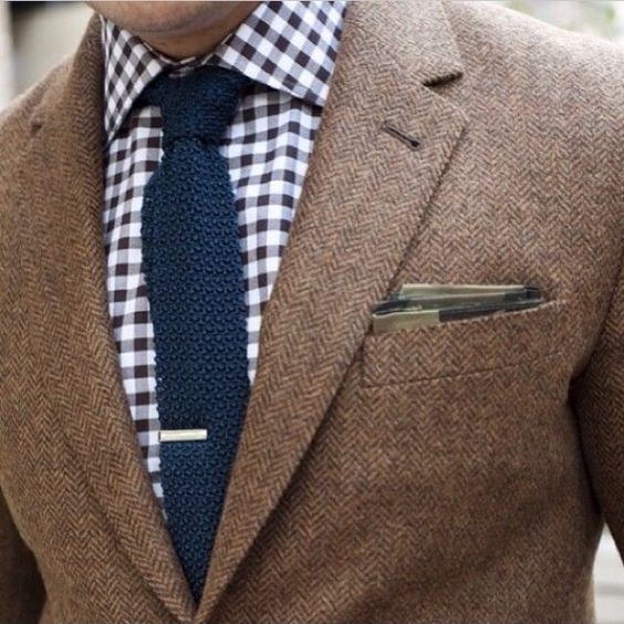 Knit Tie For Men Suits