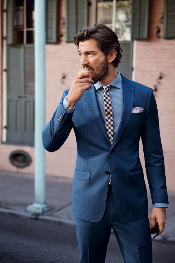Right suit shopping in 5 steps
