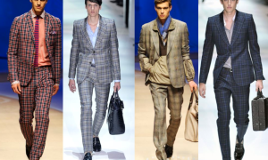 Patterned Men Suits