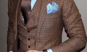 Brown Men Suits