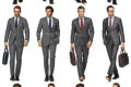 Charcoal Grey Men Suits