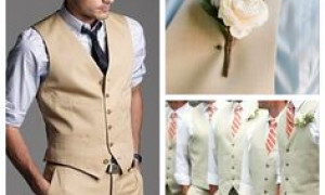 Fitting Tan Khaki Men Suits