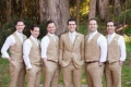 Tan Khaki Men Taupe Suits