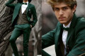 Green Men Suits