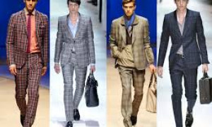 Shirt / Tie Combines For Patterned Suits