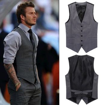 Beckham Vest Men's Formal Suit