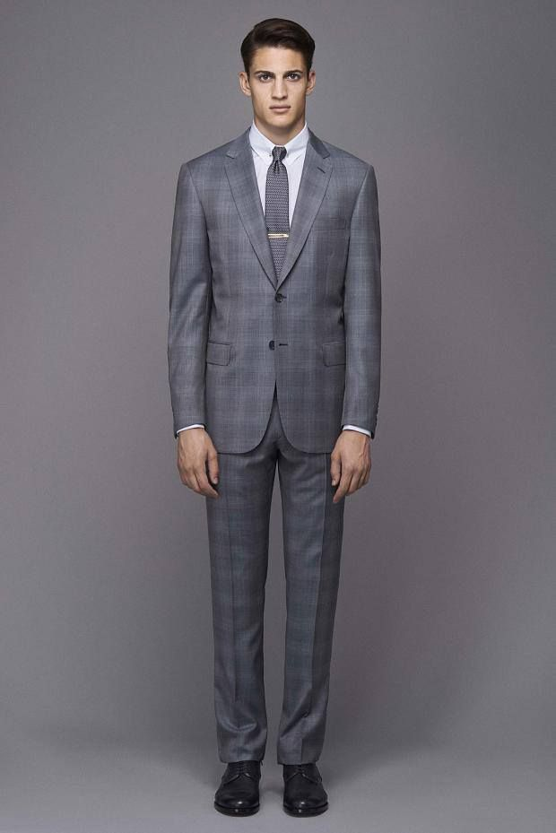 Brioni Made in Italy, Brown Men's Suit