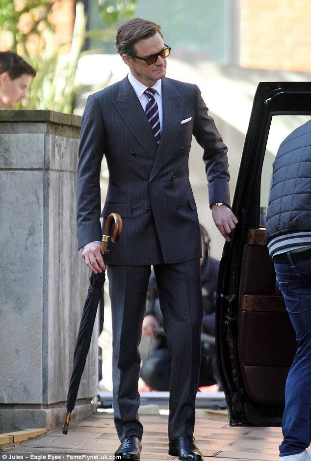 British style on Colin Firth