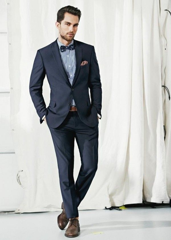 Dark blue mens suit | Mens Suits Tips
