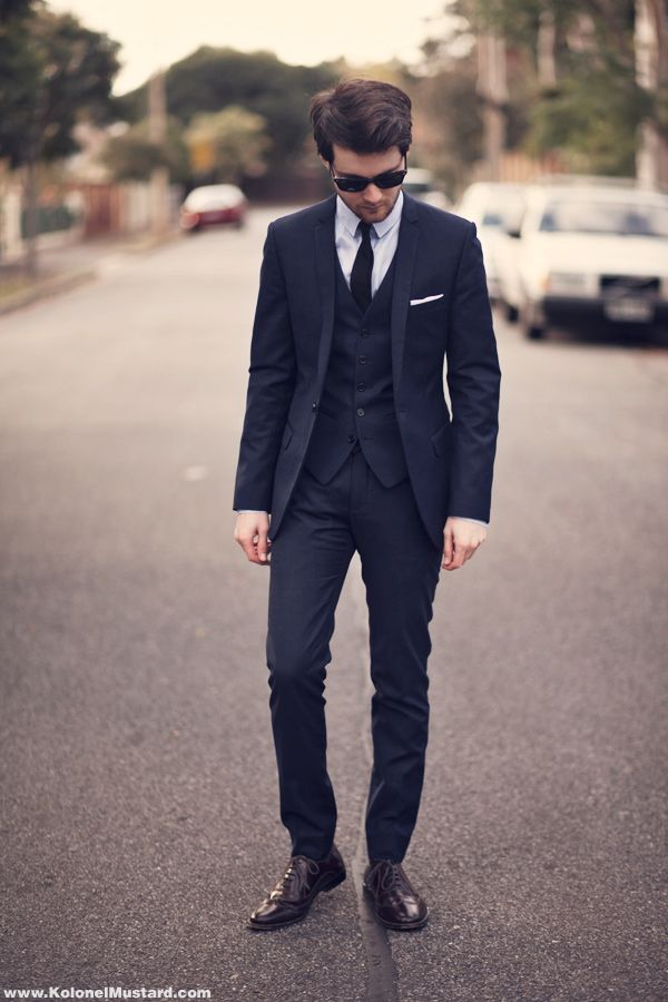 English style men suit